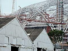 ★旧カラン飛行場と、建設途中のシンガポール・スポーツ・ハブを見に行った