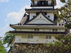 高知-7  高知城 本丸御殿・天守は懐徳館に ☆高知公園の坂を登り