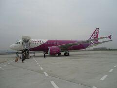 130628-0702 台湾旅行2 1日目-1(1) Peachで台湾へ