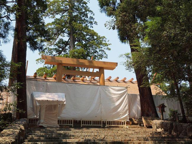 真夏の伊勢神宮参拝とおはらい町ぶらり散歩 伊勢グルメを楽しむ旅