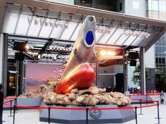赤坂サカスに展示された宇宙戦艦ヤマトを見に行きました