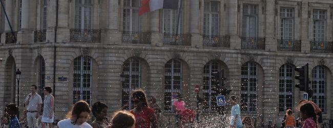 真夏のボルドー&パリへ(ボルドー街歩き...