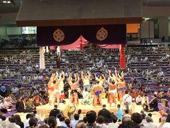 大相撲名古屋場所とちゃんこ会食(昼の部)
