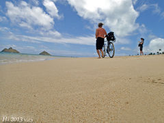 駐車は無料ナビはスマホ / モヤさま像と天国の海経由【Hawaii 2013 Vol.3】