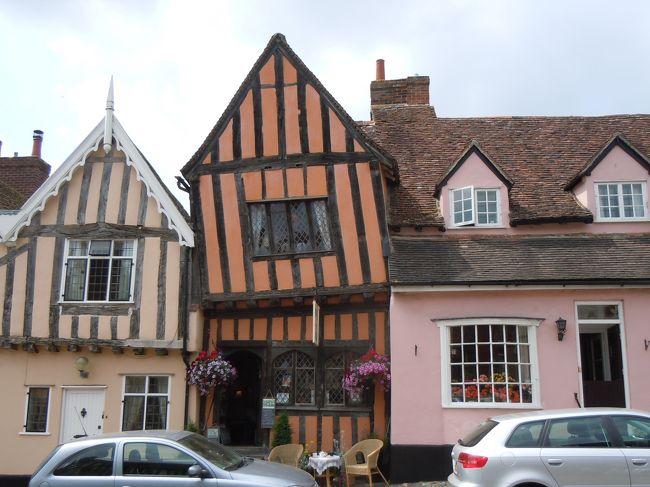 木組みとしっくいの家が並ぶラヴェナム、大学の街ケンブリッジを訪ねました