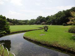 日本三名園のひとつ岡山後楽園の散策をする