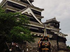 熊本城-2 大小天守閣 6階展望室からの景観 ☆外観復元は1960年に