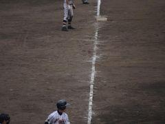 新装後初めての草薙球場で高校野球を見てきました 2013.07.26