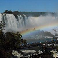 ブラジル側イグアスの滝