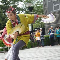 仙台から相馬野馬追・二日間の旅(一日目後半)〜夏まつり仙台すずめ踊りは前夜祭。この踊りの面白さは新ジャンルかもしれません〜