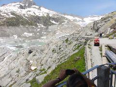 164 スイス旅行 フルカ峠~ついにマッターホルンが!