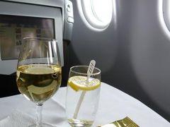 優雅な夏バカンス イタリア・東リビエラの旅♪ Vol1(第1日目午後) ☆成田~ジェノバ:成田からルフトハンザ航空×ドロミテ航空のビジネスクラスでジェノバへ♪