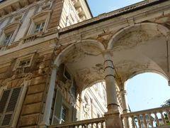 優雅な夏バカンス イタリア・東リビエラの旅♪ Vol6(第2日目午前) ☆ジェノバ:世界遺産「ガリバルディ通り」の素晴らしい建物やパティオを観賞♪