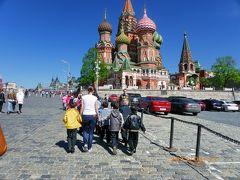 ロシア旅行記<1> (モスクワ~黄金の環)