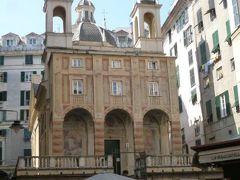 優雅な夏バカンス イタリア・東リビエラの旅♪ Vol9(第2日目午前) ☆ジェノバ:下町を気ままに歩く♪ピエトロ教会を鑑賞♪