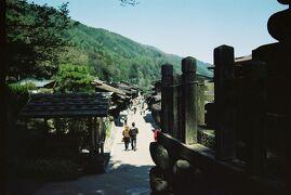 木曽・奈良井宿 五月晴れの旧中山道宿場町でぶらぶら歩き旅