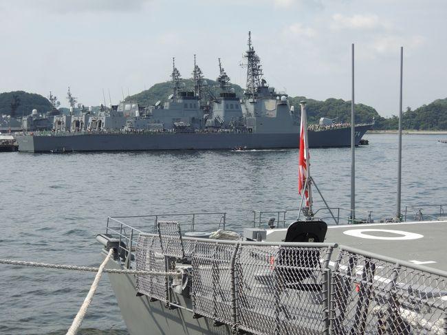 横須賀開港祭で海上自衛隊と米軍の横須賀基地を見学しました。海上自衛隊では艦船に乗船して見学でき、米軍ではFesを楽しみました。