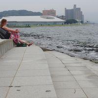 予報に反して… 1 松江の夕暮れ