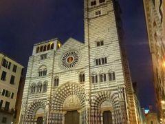 優雅な夏バカンス イタリア・東リビエラの旅♪ Vol15(第2日目夜) ☆ジェノバ:マリーナとジェノバの美しい夜景を鑑賞♪