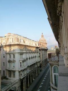 優雅な夏バカンス イタリア・東リビエラの旅♪ Vol16(第3日目朝) ☆ジェノバ:優雅なホテル「Hotel Bristol Palace」のジュニアスイートルームと朝食♪