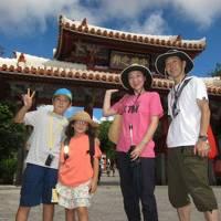 夏の美ら島は暑かった・・・ 沖縄旅行2013 第1日目、おきなわワールド~首里城~テラスガーデン美浜リゾート
