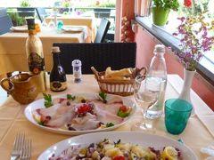 優雅な夏バカンス イタリア・東リビエラの旅♪ Vol23(第3日目昼) ☆テッラロ(Telloro):ランチは「Osteria La Galetta」でタコサラダを頂く♪