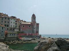 優雅な夏バカンス イタリア・東リビエラの旅♪ Vol25(第3日目午後) ☆テッラロ(Telloro):旧市街は美しい漁村と漁港と青い海 優雅に歩く♪