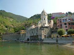 優雅な夏バカンス イタリア・東リビエラの旅♪ Vol51(第5日目午前) ☆ヴェルナッツァ:美しいヴェルナッツァを優雅な散策♪サンタ・マルゲリータ教会を鑑賞♪