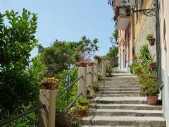 優雅な夏バカンス イタリア・東リビエラの旅♪ Vol54(第5日目昼) ☆リオマッジョーレ:高台にある教会と要塞を鑑賞♪そこからの絶景を楽しむ♪