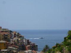 優雅な夏バカンス イタリア・東リビエラの旅♪ Vol55(第5日目昼) ☆マナローラ:高台にある教会と周囲の風景を鑑賞♪
