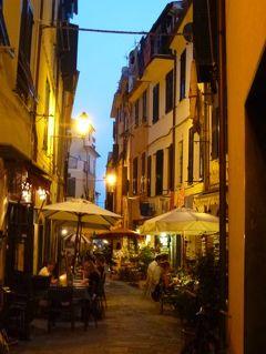 優雅な夏バカンス イタリア・東リビエラの旅♪ Vol61(第5日目夜) ☆モンテロッソ・アル・マーレ:夜景の美しいモンテロッソを優雅に歩く♪