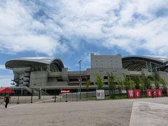 埼玉スタジアムで試乗会(2013年7月)