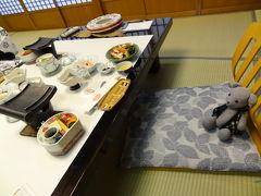 05つたやを探検する~お食事編~(城崎の旅その5)