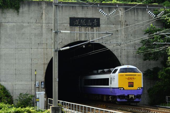 「北海道&東日本パス」を利用して、夏の北海道(道南地方)・北東北を巡るローカル線の旅を満喫してきました。<br /><br /><br />【夏の北海道・北東北を巡る旅】<br />~寝台急行はなます号に乗って北の大地に~<br />http://4travel.jp/traveler/hideyoshi201/album/10799917/<br /><br />~寝台特急カシオペア・トワイライトエクスプレス・北斗星を追いかけて~<br />http://4travel.jp/traveler/hideyoshi201/album/10800036/<br /><br />~SL函館大沼号を追いかけて~<br />http://4travel.jp/traveler/hideyoshi201/album/10800037/<br /><br />~駅舎の宿泊施設「駅の宿ひらふ」に宿泊してみた~<br />http://4travel.jp/traveler/hideyoshi201/album/10800038/<br /><br />~倶知安・ニセコに訪れてみた~<br />http://4travel.jp/traveler/hideyoshi201/album/10800040/<br /><br />~SL函館大沼号に乗って~<br />http://4travel.jp/traveler/hideyoshi201/album/10800245/<br /><br />~函館の夜景を見に訪れてみた~<br />http://4travel.jp/traveler/hideyoshi201/album/10800042/<br /><br />~江差線に乗って~<br />http://4travel.jp/traveler/hideyoshi201/album/10800204/<br /><br />~青函トンネルに訪れてみた、そして青森ねぶた祭り~<br />http://4travel.jp/traveler/hideyoshi201/album/10800207/<br /><br />~五能線・白神山地を散策しに訪れてみた~<br />http://4travel.jp/traveler/hideyoshi201/album/10800213/<br /><br />~温泉のある駅「ほっとゆだ」に訪れてみた~<br />http://4travel.jp/traveler/hideyoshi201/album/10800216/<br /><br /><br /><br />青函トンネルから出てくる列車の勇姿を眺めに青函トンネルの入り口に訪れてみました。<br />またその帰りに青森に立ち寄り、「青森ねぶた祭り」を鑑賞してきました。<br />