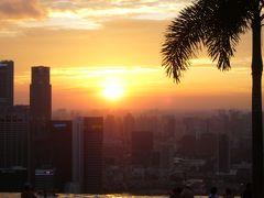 マイレージでシンガポール4泊7日の夏休み(その2)~初日はマリーナベイサンズ② インフィニティプールほか~