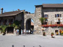 2013年 シャモニー旅行 最終日 飛行機に乗る前にジュネーヴと中世の村イヴォワール観光
