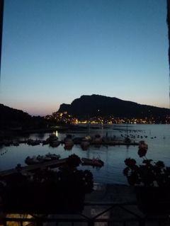 優雅な夏バカンス イタリア・東リビエラの旅♪ Vol76(第6日目夜) ☆パルマリア島:オーペルジュ「Locanda Lorena」から素晴らしいポルトヴェネーレの夜景を眺めて♪