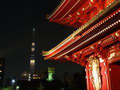 2013年 浅草寺と東京スカイツリー