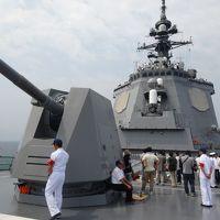 2013年7月 最新鋭イージス艦「あしがら」に乗艦 海上自衛隊舞鶴地方隊展示訓練2013