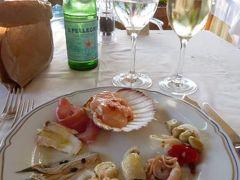 優雅な夏バカンス イタリア・東リビエラの旅♪ Vol87(第7日目夜) ☆モンテロッソ・アル・マーレ:「Hotel Porto Roca」のディナーは前菜ブッフェがすご~い♪