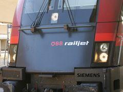 初ヨーロッパ鉄道国境越え。レールジェットに乗って。
