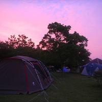 入梅前のキャンプ(赤穂海浜公園オートキャンプ場)