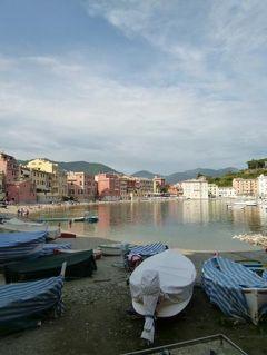 優雅な夏バカンス イタリア・東リビエラの旅♪ Vol107(第9日目午後) ☆セストリ・レヴァンテ:旧港を優雅に歩く♪