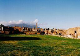 南イタリア2003 ポンペイ・カプリ島 正月家族旅行