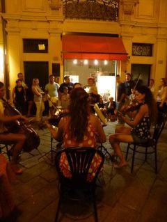 優雅な夏バカンス イタリア・東リビエラの旅♪ Vol111(第9日目夜) ☆セストリ・レヴァンテ:美しい旧市街の夜景とジャズイベントを楽しむ♪