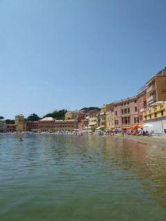優雅な夏バカンス イタリア・東リビエラの旅♪ Vol116(第10日目午後) ☆セストリ・レヴァンテ:午後もプライベートビーチで優雅なバカンス♪