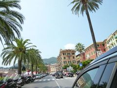 優雅な夏バカンス イタリア・東リビエラの旅♪ Vol123(第11日目午前) ☆セストリ・レヴァンテ~ポルトフィーノ:専用車ベンツで美しい景色を眺めながらポルトフィーノへGO!
