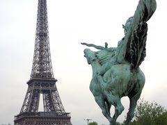 5月なのに極寒!異常気象の欧州17日間の旅⑨ 夫と別行動。 それぞれのパリ3日目、午後の散策