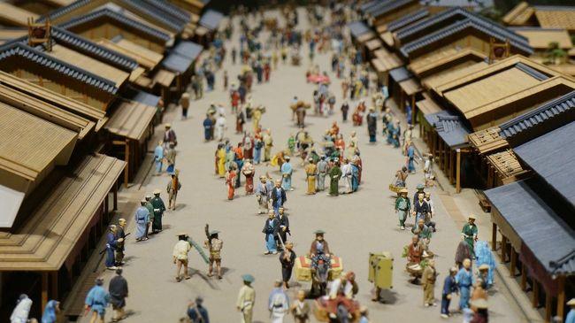 スカイツリー前を出発し、亀戸天神から東京江戸博物館へ<br />徒歩&バスすみまるくんを使って街歩き