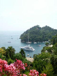 優雅な夏バカンス イタリア・東リビエラの旅♪ Vol125(第11日目昼) ☆ポルトフィーノ:「Hotel Splendido」の絶景テラスで優雅なランチ♪
